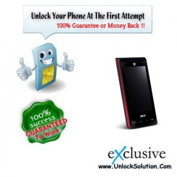 Acer BeTouch T500 Unlocking
