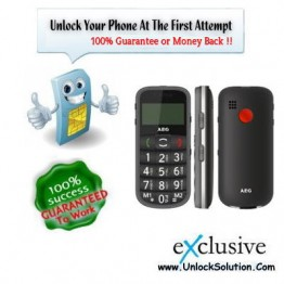 AEG S40 Senior Phone Unlocking