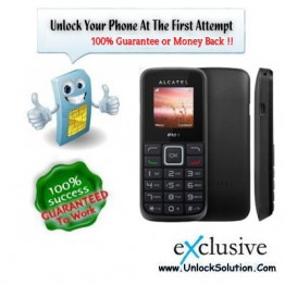 Alcatel One Touch 1010 Unlocking