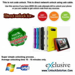 LUMIA 540 INSTANT DIRECT UNLOCK USING USB CABLE.