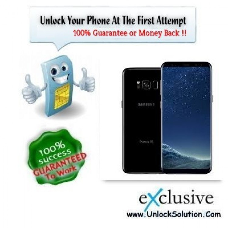 where to enter unlock code samsung galaxy s8